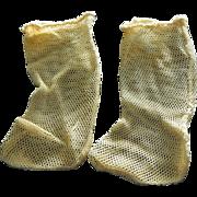 Great old doll socks