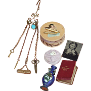 Antique chatelaine + accessories for French fashion