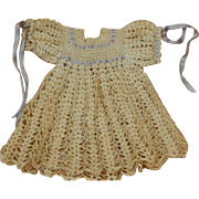 Cute vintage crotchet doll dress
