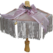 Cute small vintage working umbrella
