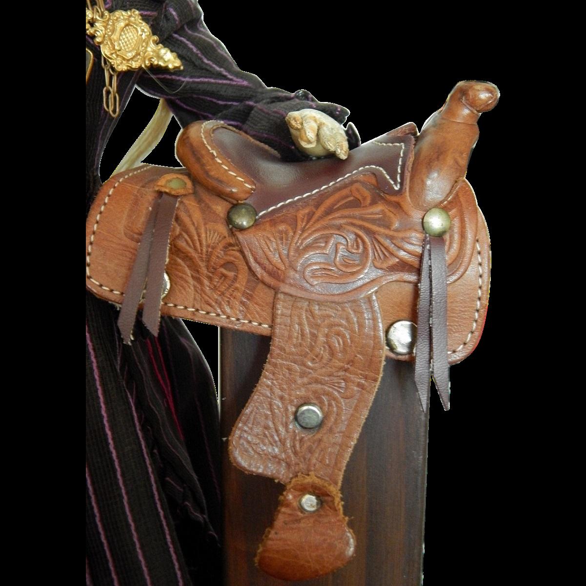 Vintage Leather Saddle 25