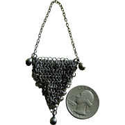 Antique French fashion mesh purse