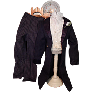 Wonderful suit for French fashion man doll