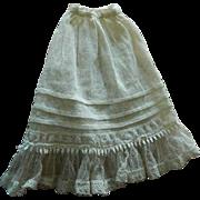 Gorgeous antique slip French fashion
