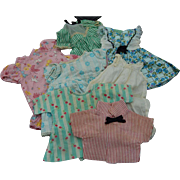 Cute vintage small doll clothing lot