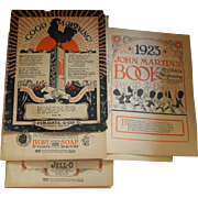 1923 John Martin's Book ads for doll room