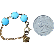 Wonderful antique doll bracelet