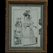 Original French fashion, February 1829