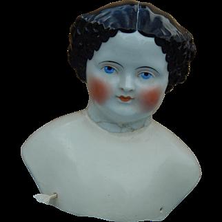 Large 1860's flat top head, restored