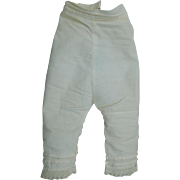 Lovely antique doll pantaloons