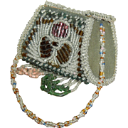 Beautiful beaded doll purse-dated 1912