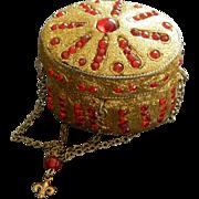 French fashion vintage box purse & accessories