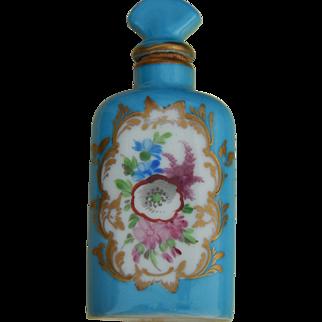 Dresden Saxony scent bottle for doll