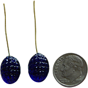 Rare antique French bebe earrings #1