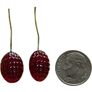 Rare antique French bebe earrings #2