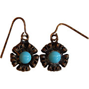 Lovely old doll earrings
