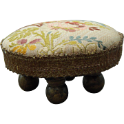 Lovely miniature footstool for doll/dollhouse