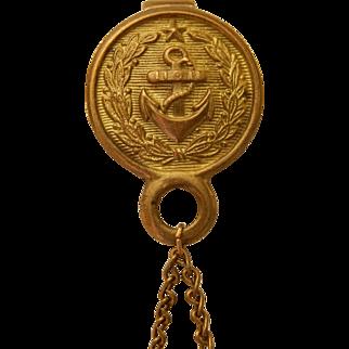 Antique purse for mariner/sailor bebe