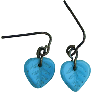 Rare antique French bebe earrings!