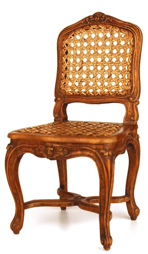 Miniature Louis XV Style French Fauteuil (Chair)