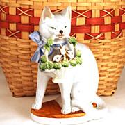 Vintage German Porcelain Statue
