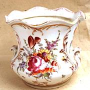 Dresden Porcelain Jardiniere