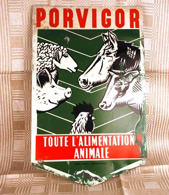 Vintage French Affiche (Advertising Sign)