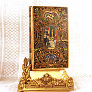 "Antique French Romantic Binding, ""Les Peintres Celebres""  circa 1844"