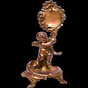 Antique Nineteenth Century Gilded Bronze/Metal Porte Montre Vide Poche