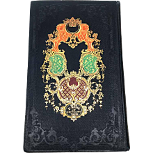 "Antique Nineteenth Century French Romantic Binding Book ""Madame Sevigne"""