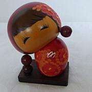 Vintage Japanese Sousaku Kokeshi Doll by Chie