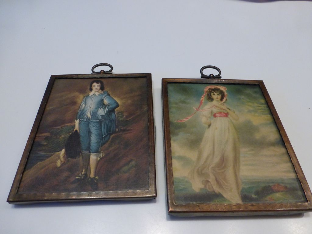 7 Popular Siding Materials To Consider: Antique Pinkie & Blue Boy Prints In Arts & Crafts Copper