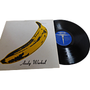 "Rare ""The Velvet Underground & Nico"" with ANDY WARHOL Banana Unpeeled  Verve Stereo V6-5008 1967"