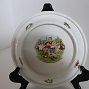 Vintage Royal Baby-Plate Bowl Dish 1905 Germany