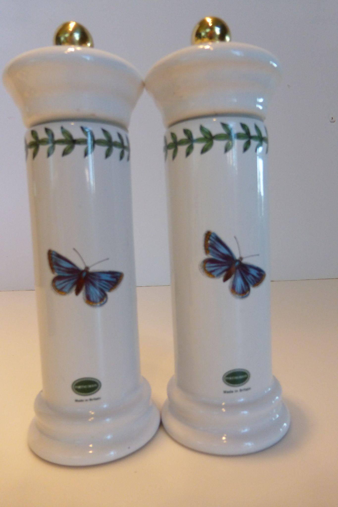 portmeirion botanic garden salt  u0026 pepper mill set sweet