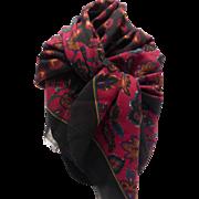 Henri Bendel Fine Wool Scarf Wrap Italy