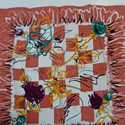 """Vintage 17"""" Silk Scarf by Symphony"""
