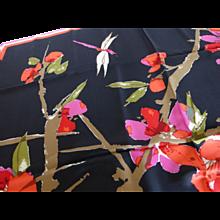 Vintage Vera Lady Bug Poppy Scarf - Red Tag Sale Item