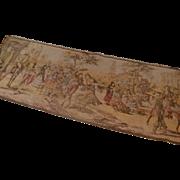 Lovely European Tapestry Italian Renaissance Scene
