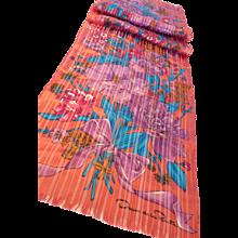 Vintage Oscar de la Renta Long Silk Scarf - Red Tag Sale Item