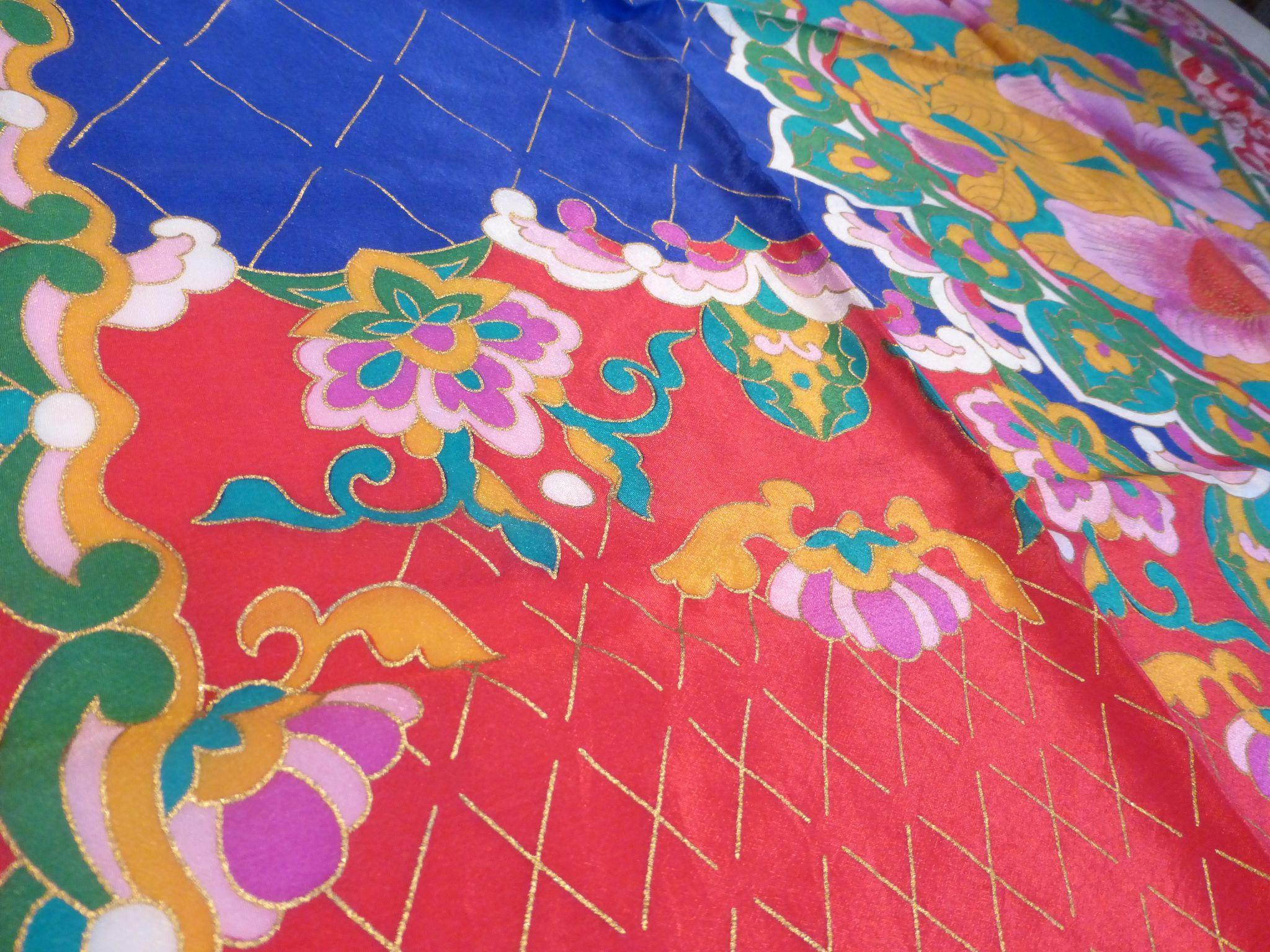 3 Vintage 50s Fast Color Elephant Logo furthermore Color Inspiration Mustard Yellow likewise Vintage Oscar De La Renta Silk further Sold Archive together with 182348847252. on oscar de la renta silk scarf tree