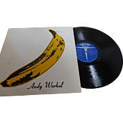 "Rare ""The Velvet Underground & Nico"" with ANDY WARHOL Banana Cover Unpeeled  Verve Stereo V6-5008 1967"