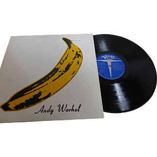 """Rare """"The Velvet Underground & Nico"""" with ANDY WARHOL Banana Cover Unpeeled  Verve Stereo V6-5008 1967"""