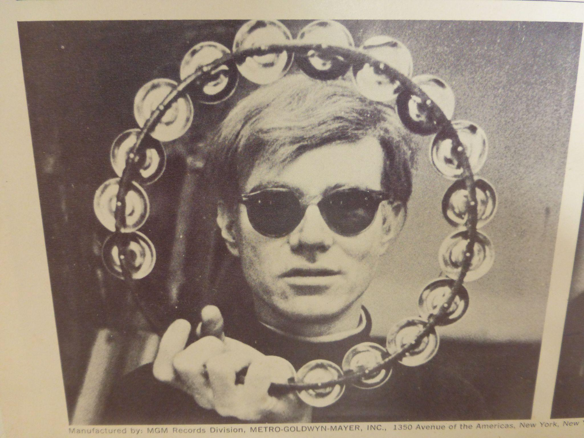 Rare The Velvet Underground Amp Nico With Andy Warhol