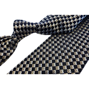 Nicole Miller Silk Foulard Necktie