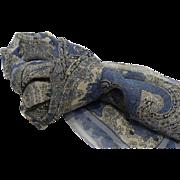 Vintage Long Silk Chiffon Scarf