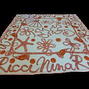 Nina Ricci Signature Silk Twill Scarf