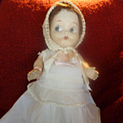 Vintage 1920's Composition Carnival Doll Kewpie Style
