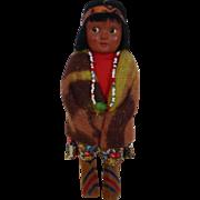 Native American Indian Skookum Doll