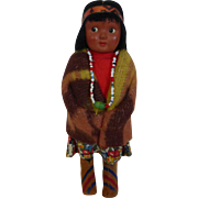 Native American Indian Skookum Doll
